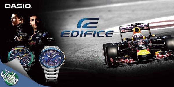كاسيو تطرح تشكيلة واسعة من ساعات إدفيس بمناسبة سباق فورمولا وان أبو ظبي
