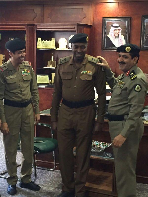 عون الشهراني إلى رتبة مقدم بالأمن العام بالرياض