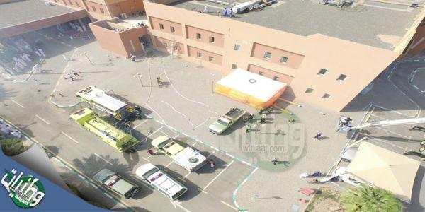 بالصور - محافظ محايل يقف على فرضية مستشفى #محايل العام