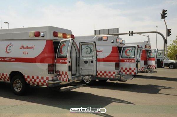 """هلال الشمالية باشر """"1444 """"حالة إسعافية بزيادة """"126 """"حالة عن الربع الأول"""