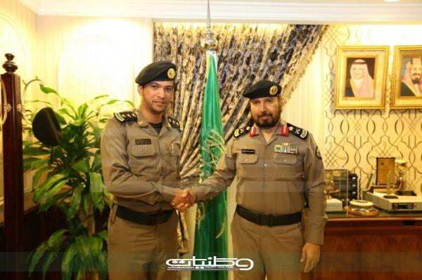"""مُدير شرطة مكة يُقلد """"المعبدي """" رتبته الجديدة"""