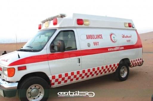 هلال #المدينة ٣ حالات وفاة و ٤ اصابات في حوادث فجر اليوم