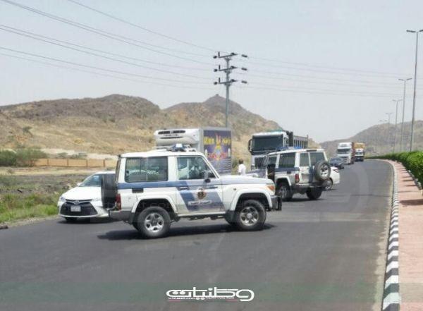 وفاة رجل أمن تعرض لحادث دهس بإحدى نقاط التفتيش بمحافظة #بارق