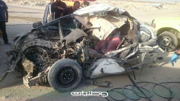 """وفاة وإصابة متوسطة بحادث سير بمخرج""""18"""" شرق العاصمة الرياض"""