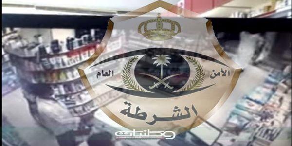 شرطة #الدمام توقع بعصابة سرقة الصيدليات ظهروا في مقطع فيديو