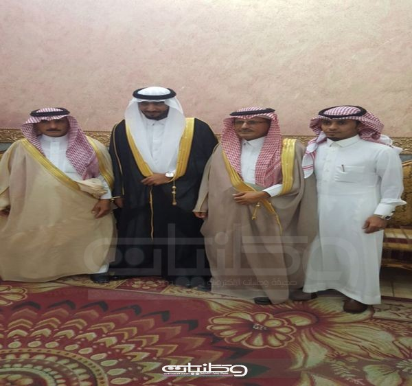 """سالم الشمري """" يحتفل بزواجه بقاعة المملكة بمدينة #عرعر"""