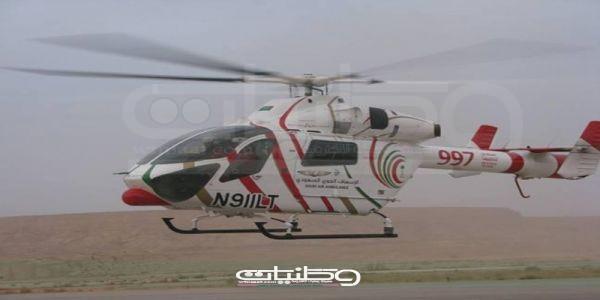 (13) إصابة بحادث تصادم على طريق #حقل و #الهلال_الأحمر يُباشر الحادث