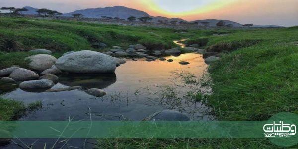 وادي #البرداني بـ #بارق غابت عن خدمات التطوير وتجاهلته #سياحة_عسير