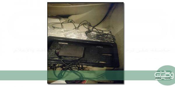"""شرطة #مكة تضبط مواطن يبيع أجهزة تخفي لوحة المركبات عن نظام""""ساهر"""""""