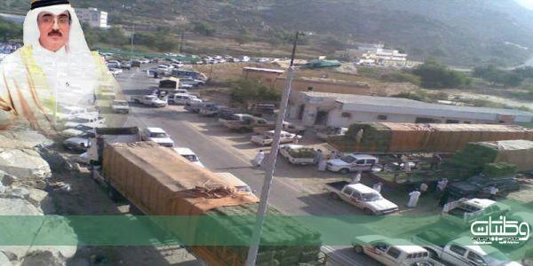 مُحافظ #بارق يوجه بمنع دخول الشاحنات إلى سوقي (جمعة أثرب وربوع العجمة)
