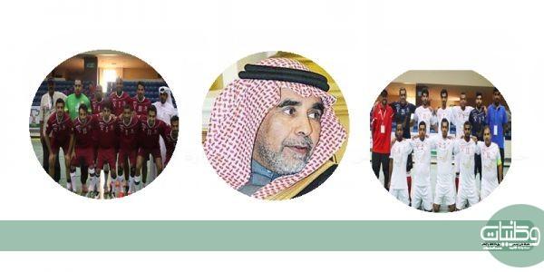 وكيل امارة #عسير يرعى نهائي الخليج بين #عمان و#قطر