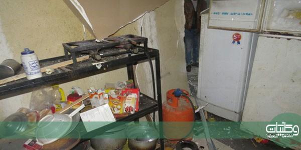 مدني بريدة يُباشر إنفجار سحان ماء في شقة عمالة بصناعية #بريدة