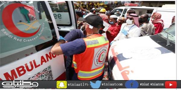 في #جدة(3015) بلاغ باشرتها فرق الهلال الأحمر خلال الشهر الأول لهذا العام