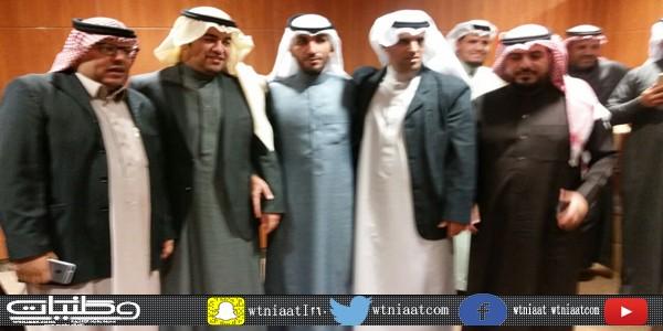 إعلاميو #عرعر يزورون مكتب #وكالة الأنباء واس والديدب يُثمن لهم الزيارة
