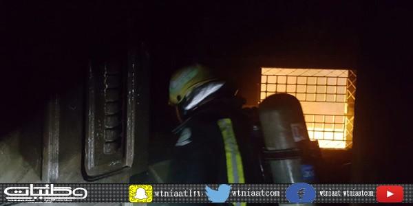 مدني #الباحة يُخمد حريق محدود في غرفة بمنزل في قرية المدان بمُحافظة بلجرشي