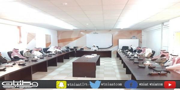 786 زيارة ميدانية لمشرفي مكتب التعليم بأحد رفيدة