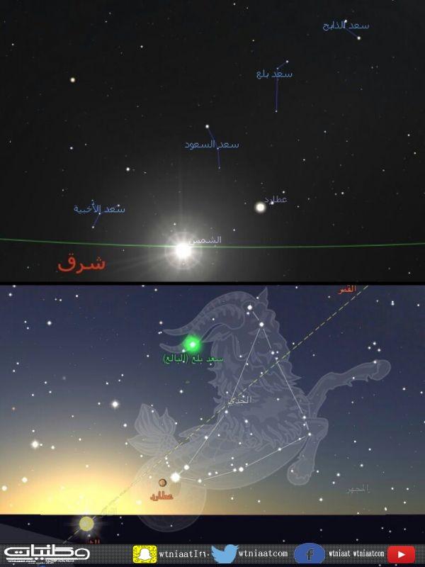 الفلكي آل رمضان الخميس بعد غدا سعد بلع