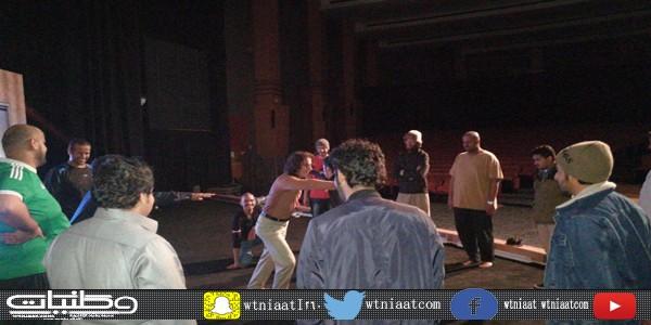 دورة السينوغرافيا المسرحية تفيد أكثر من 25 طالباً في النشاط المسرحي بـ #جامعة_الملك_خالد