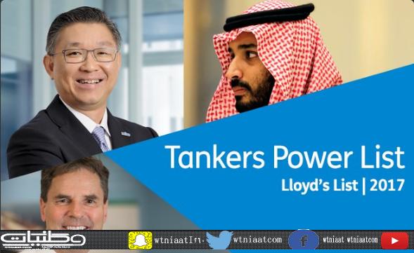 ولي ولي العهد يتصدر الشخصيات العالمية المؤثرة في قطاع نقل النفط والغاز