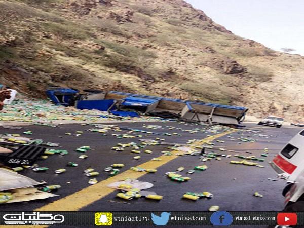 هلال الباحة يُباشر خلال (14) يوماً عدداً من الحوادث المتفرقة