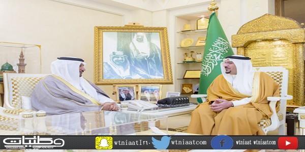 أمير منطقة #القصيم يستقبل الدوسري بمناسبة تعيينه أميناً للمنطقة