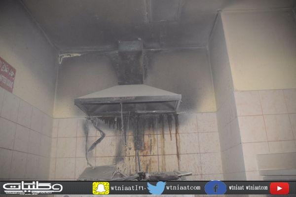 حريق موقد كهربائي يُخلي سكن التمريض بمستشفى الملك سعودي في #عنيزة