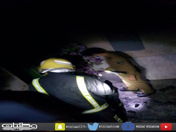 مدني #عسير يكشف اسباب حريق منزل نائب المعربة بثلوث المنظر
