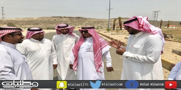 بلدي #بارق يتابع سير المشاريع ويزور السوق  الرمضاني في المُحافظة