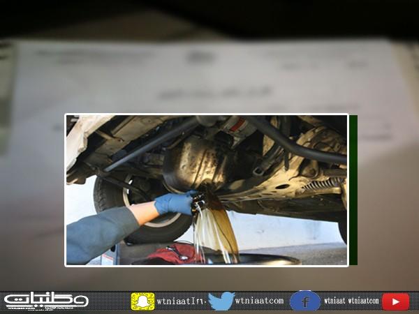 وكيل خدمات مركبات في #خميس_مشيط يلزم عُملاء الفرع بتوقيع اقرار خطي قبل تغيير الزيت