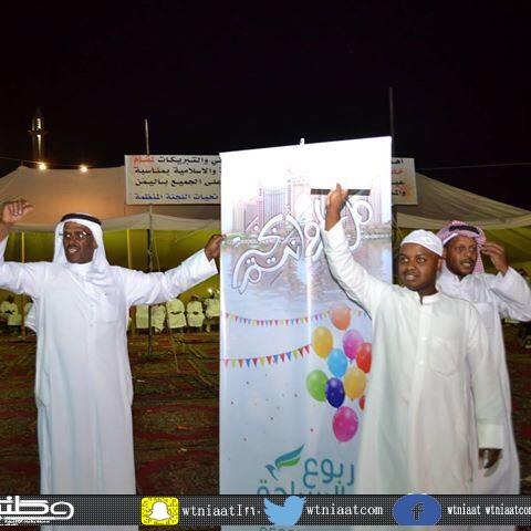 أهالي حي #خضيراء وسط بريدة يتهيئون لإستقبال العيد بحزمة من الفعاليات