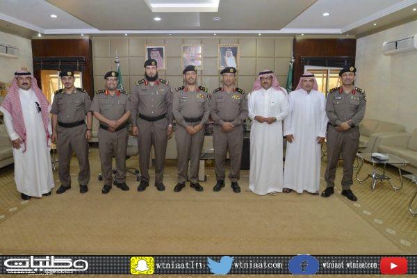 اللواء الطالب يقلد عدداً من ضباط شرطة القصيم رتبهم الجديدة