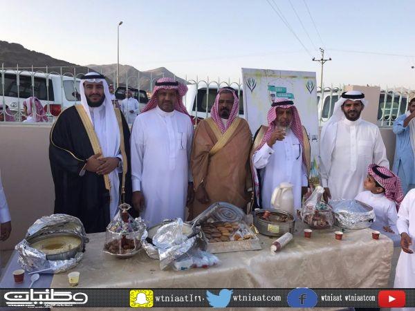 تنمية #معشوقة تجمع الأهالي صباح العيد على ممائدة الأسر المنتجة