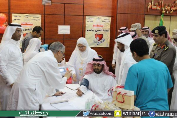 القرقاح يدشن حملة التبرع بالدم بمحافظة ظهران الجنوب