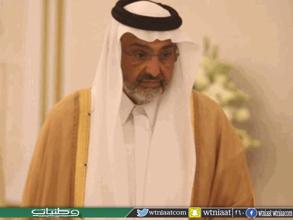 عبدالله آل ثاني لوزير خارجية #قطر لم اعرض على الملك وولي عهده اي أمر شخصي