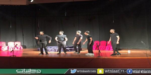 """فنون #حائل تنظم مسرحية """"ثلاثة في العسكرية """""""