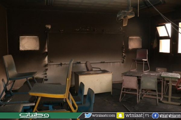 جهاز عرض يتسبب في حريق محدود بإحدى مدارس البنات بـ #حائل