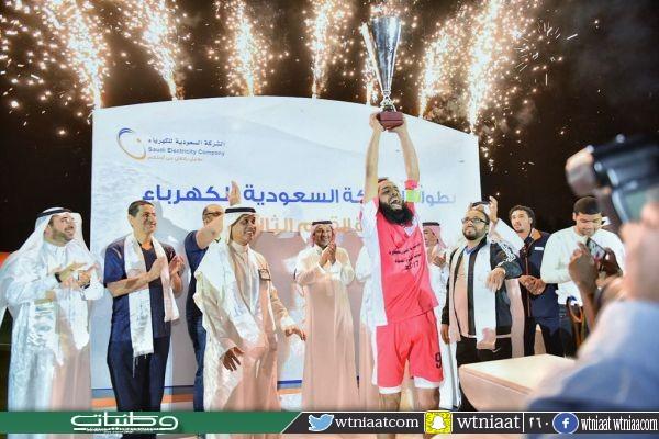 """نهائي مثير لبطولة كأس بـطولة """"السعودية للكهرباء"""" الثالثة"""