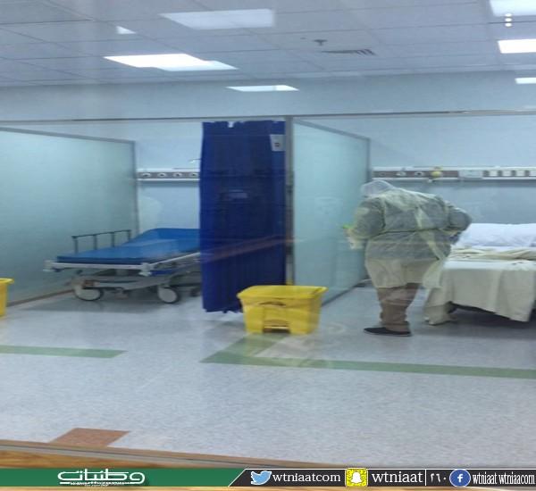 توسعة منطقة العزل بطوارئ مستشفى الملك فهد #بجدة