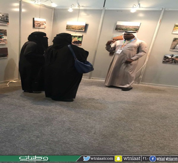 #خيبر تستقطب زوار ملتقى ألوان السعوديه