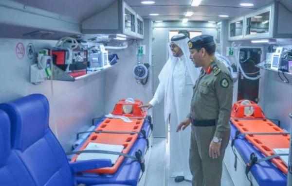 صحة القصيم تدشن حملة التبرع بالدم لدعم الجنود البواسل بـ #الحد_الجنوبي
