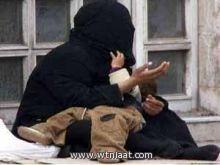 ظاهرة التسول في رمضان