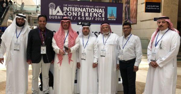 السعودية للكهرباء تُشارك بالمؤتمر الدولي للتدقيق الداخلي في #دبي