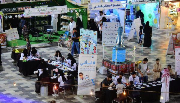 مشاركة فاعلة للجمعيات الخيرية والانسانية فى مهرجان ليالي رمضان
