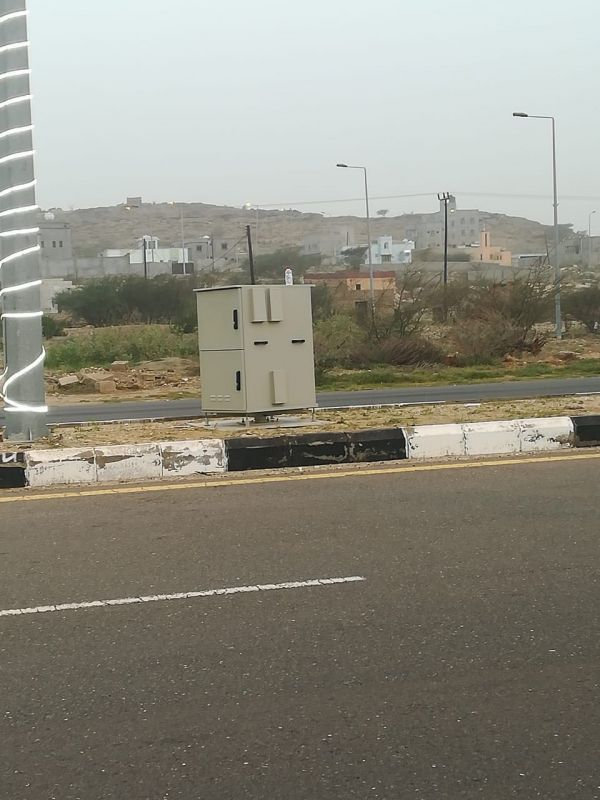 """""""ساهر"""" في بارق وقرية العيرية تشهد تركيب أولى كامرات الرصد الآلي"""
