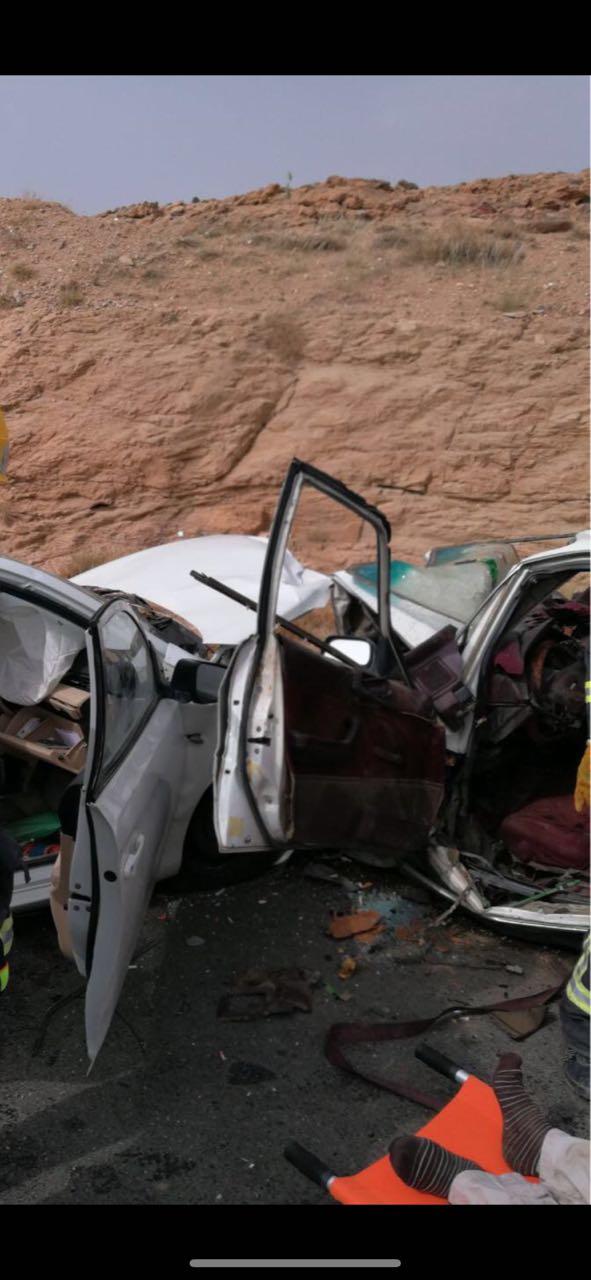 سبع إصابات في حادث تصادم ببارق واربع فرق إسعافية تباشر الحادث