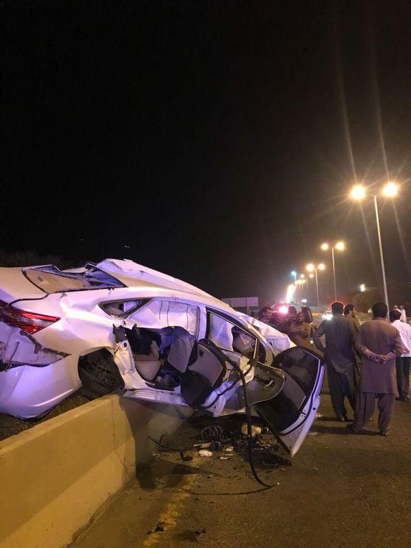 حادث تصادم في الحرجة يخلف وفاتين وعدد من الإصابات