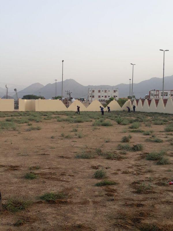 شاهد- بلدية #بارق تنهي إستعدااتها لعيد الأضحى