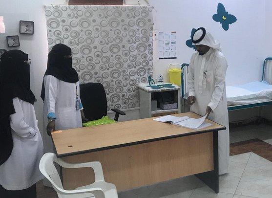زيارة مُدير صحة بيشة تُحيل 6 موظفين بالمراكز الصحية للتحقيق