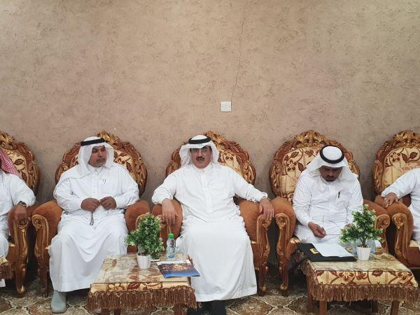 آل حموض يُناقش فعاليات #مهرجان_المجاردة والشهري رئيساً للمركز الإعلامي