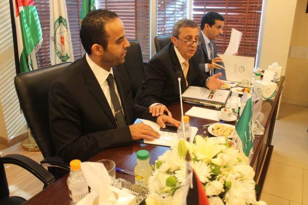 سفارة المملكة في #الأردن تشارك في الحواري بين محافظ الهيئة العامة للاستثمار السعودية وغرفة تجارة عمان